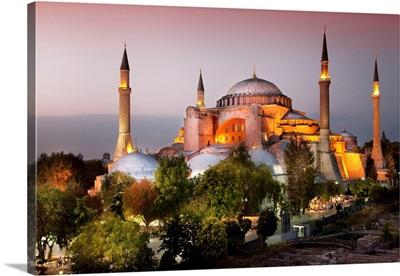 Turkey, Marmara, Istanbul, Hagia Sophia, Aya Sofya, Hagia Sophia
