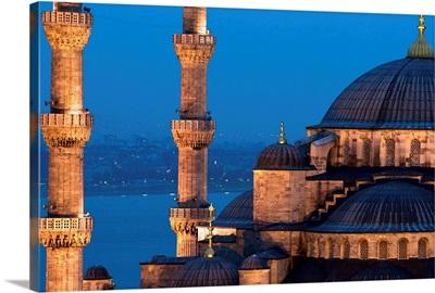 Turkey, Marmara, Mediterranean area, Bosphorus, Istanbul, Blue Mosque