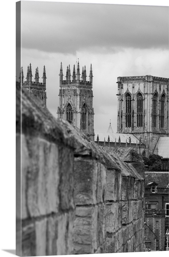Uk england great britain yorkshire york york minster cathedral canvas split canvas floating frame framed canvas