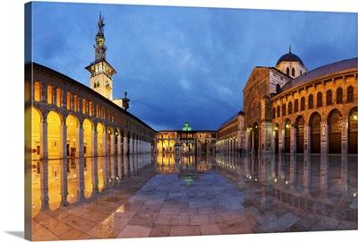 Umayyad Mosque, Middle Eaast, Damascus