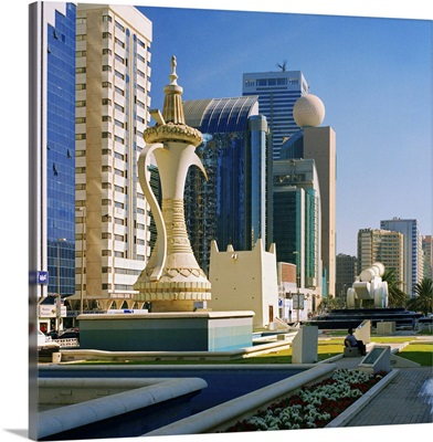 United Arab Emirates, Abu Dhabi, Al Ittihad Square