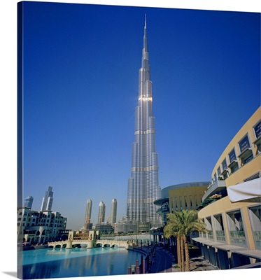 United Arab Emirates, Dubai, Burj Khalifa and Dubai Mall