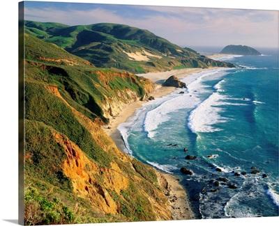 United States, California, Big Sur region, coast