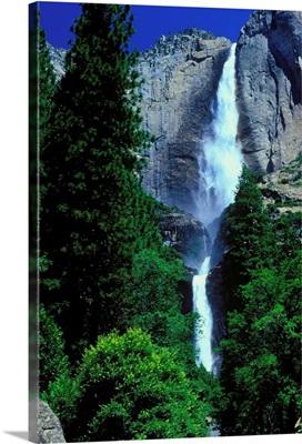 United States, California, Yosemite National Park, Yosemite falls