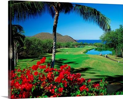 United States, Hawaii, Maui island, Makena Golf Courses