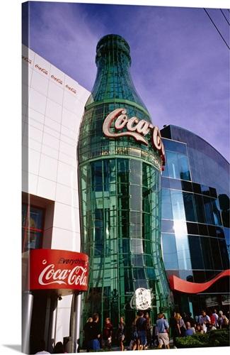 United States, Nevada, Las Vegas, Coca Cola Museum Wall Art, Canvas ...