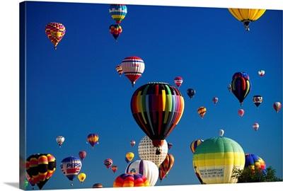 United States, New Mexico, Albuquerque town, International Balloon festival