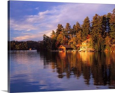 United States, New York State, Adirondacks, Lake Placid