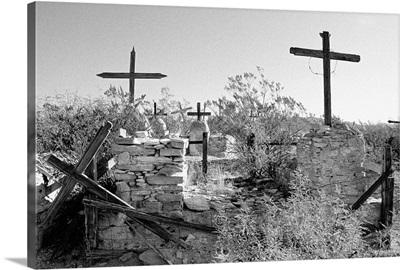 United States, Texas, Terlingua, graveyard