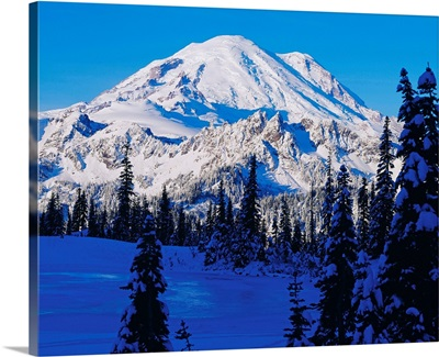 United States, Washington State, Mt. Rainier