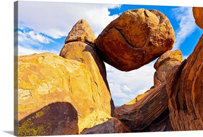 Usa, Texas, Big Bend National Park, Grapevine Hills, Balanced Rock