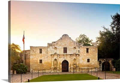 USA, Texas, San Antonio, The Alamo, Mission San Antonio De Valero