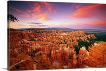 Utah, Bryce Canyon National Park, Scenic road N 12