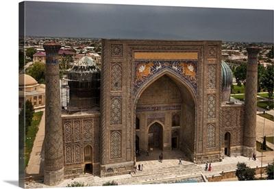 Uzbekistan, Samarqand, The Registan