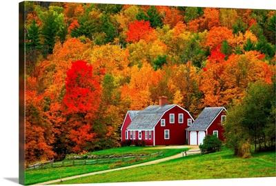 Vermont, Farmhouse