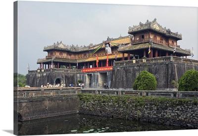 Vietnam, Hue, Five Phoenix Watchtower, Imperial Citadel, Forbidden City