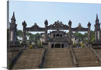 Vietnam, North Central Coast, Hue, Tomb of Khai Dinh, Thua Thien-Hue Province
