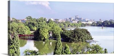 Vietnam, Red River Delta, North Vietnam, Ha Noi, Hanoi, Hoan Kiem Lake