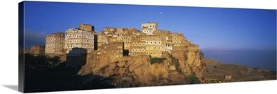 Yemen, Manakha, Al Hajjarah, Djebel Haraz, Al Hajjarah village