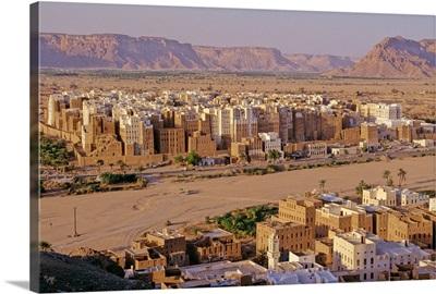 Yemen, South Yemen, Wadi Hadhramawt, Shibam town