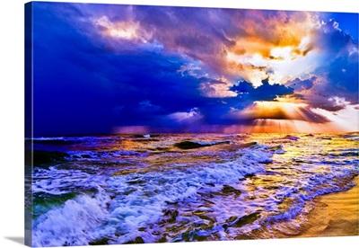 Blue Seascape  2