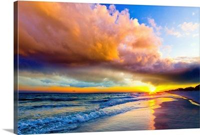 Colorful Landscape Colors Of Heaven Sunset Sea