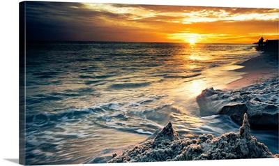 Destin Florida Sunset-Sandcastle Beach Sunset