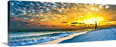 Surfer Sunset Inspirational