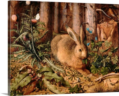 A Hare in the Forest, by Hans Hoffmann, c. 1585