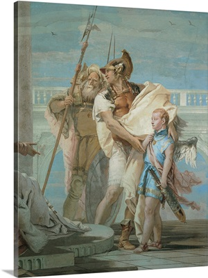 Aeneas Introducing Cupid Dressed as Ascanius to Dido, by Giambattista Tiepolo, 1757