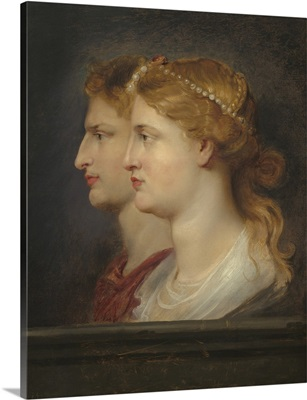 Agrippina and Germanicus, by Peter Paul Rubens, 1614