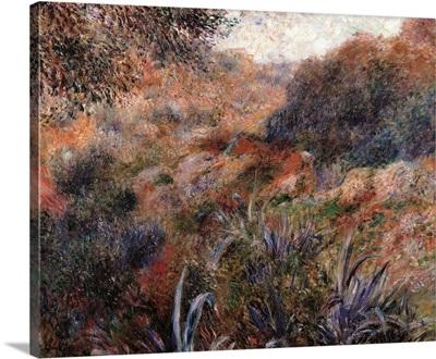 Algerian Landscape, the Ravine of the Wild Woman, by Pierre-Auguste Renoir, ca. 1881