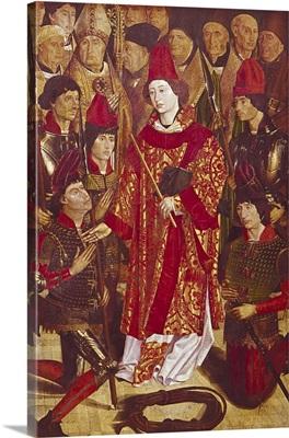 Altarpiece of Saint Vincent Detail. 1460s. By Nuno Goncalves. Lisbon, Portugal