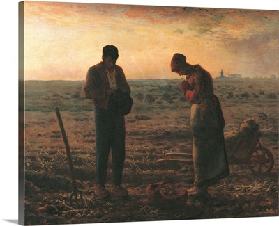Angelus, by Jean-Francois Millet, 1859. Musee d'Orsay, Paris, France