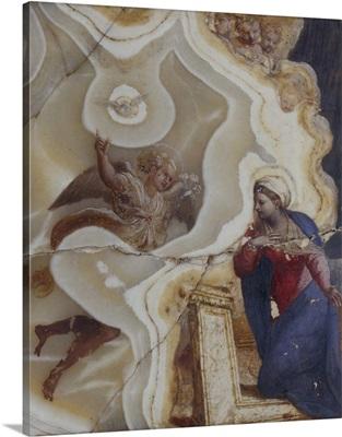 Annunciation By Antonio Carracci, c. 1610, Italy