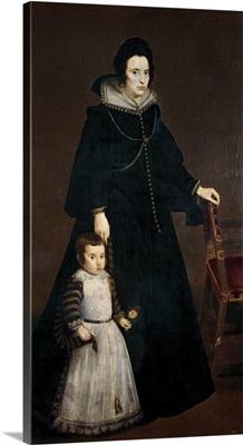 Antonia de Ipenarrieta y Galdos and her Son, Luis, 1631