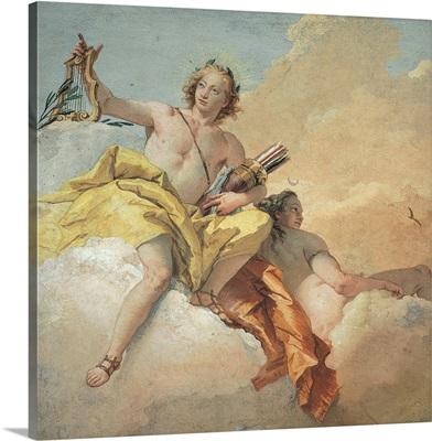 Apollo and Diana, by Giambattista Tiepolo, 1757. Vicenza, Italy