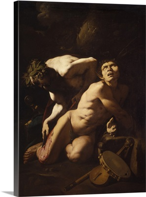 Apollo And Marsyas, By Lombard School, 1631