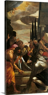 Apostles At The Tomb Of The Virgin, By Annibale Carracci, 1606-1609.