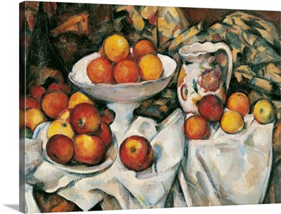 Apples And Oranges, By Paul Cezanne, Ca. 1895-1900. Paris, France