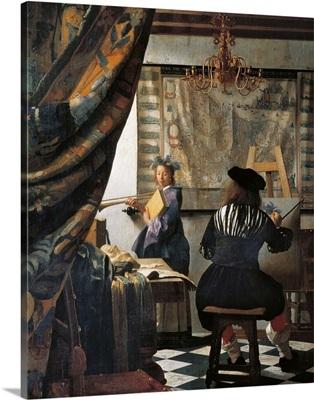 Art of Painting, by Jan Vermeer, 1672