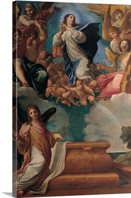 Assumption of the Virgin, by Ludovico Carracci, 1606-1607. Estense Gallery, Modena