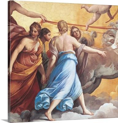 Aurora, by Guido Reni, 1614. Casino of Rospigliosi Pallavicini Palace, Rome, Italy