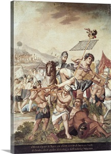 Battle Of Otumba Cortes Troops Defeated Aztec Army 1520