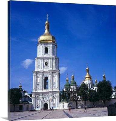 Bell Tower, Saint Sophia Cathedral. 17th c. Kiev, Ukraine