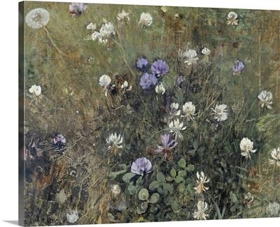 Blooming Clover, by Jac van Looij, c. 1897