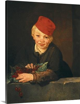 Boy with cherries, 1859