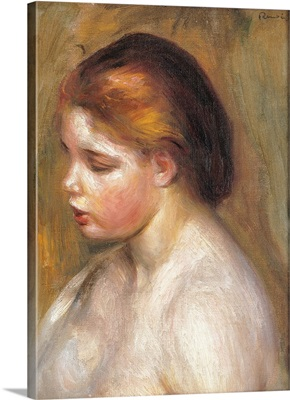 Bust of a Nude Young Girl, by Pierre-Auguste Renoir, ca. 1886. Musee d'Orsay, Paris