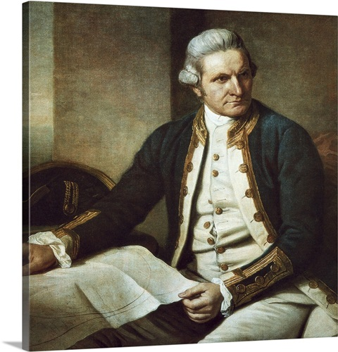 Captain james cook 1775 76 by nathaniel dance holland wall art captain james cook 1775 76 by nathaniel dance holland sciox Images