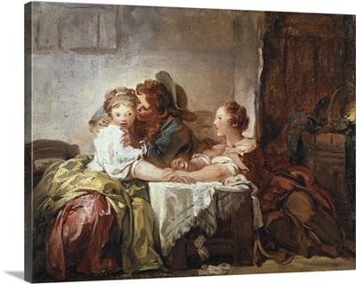 Captured Kiss, Ca. 1750-1800